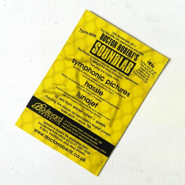 soundlab flyer