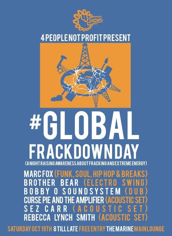 4 people not profit frackdown