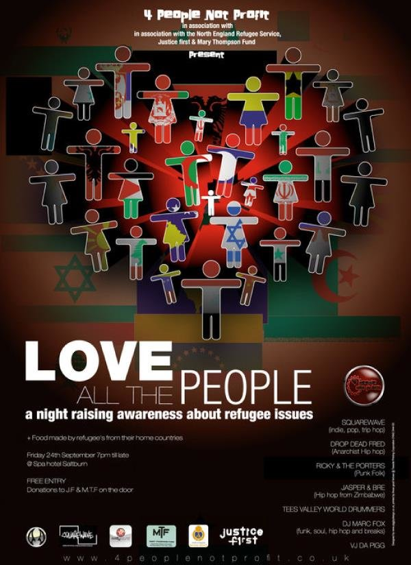 4 people not profit love all the people