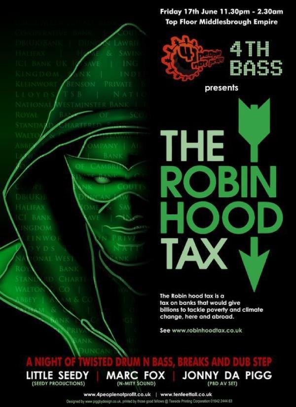 robin hood tax poster