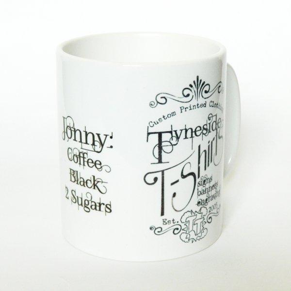 tyneside t-shirts mug
