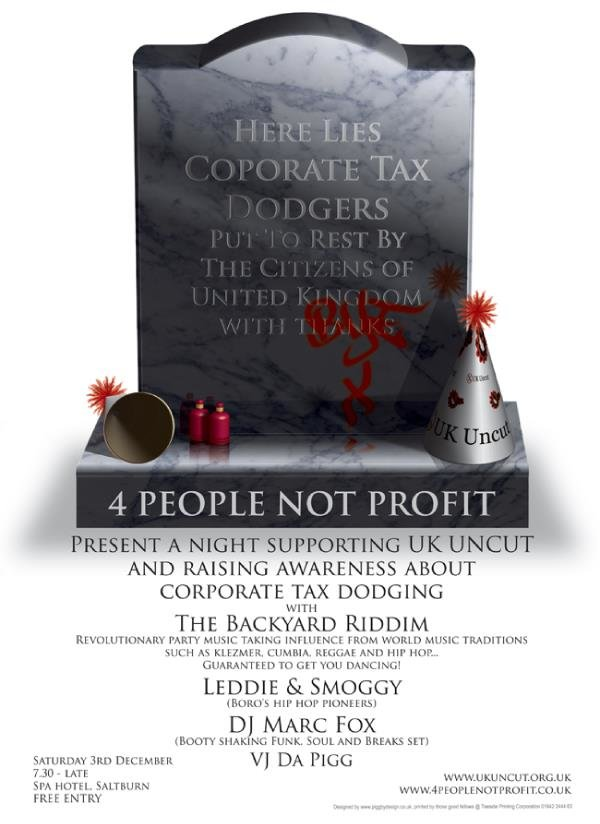 4 people not profit tax dodgers