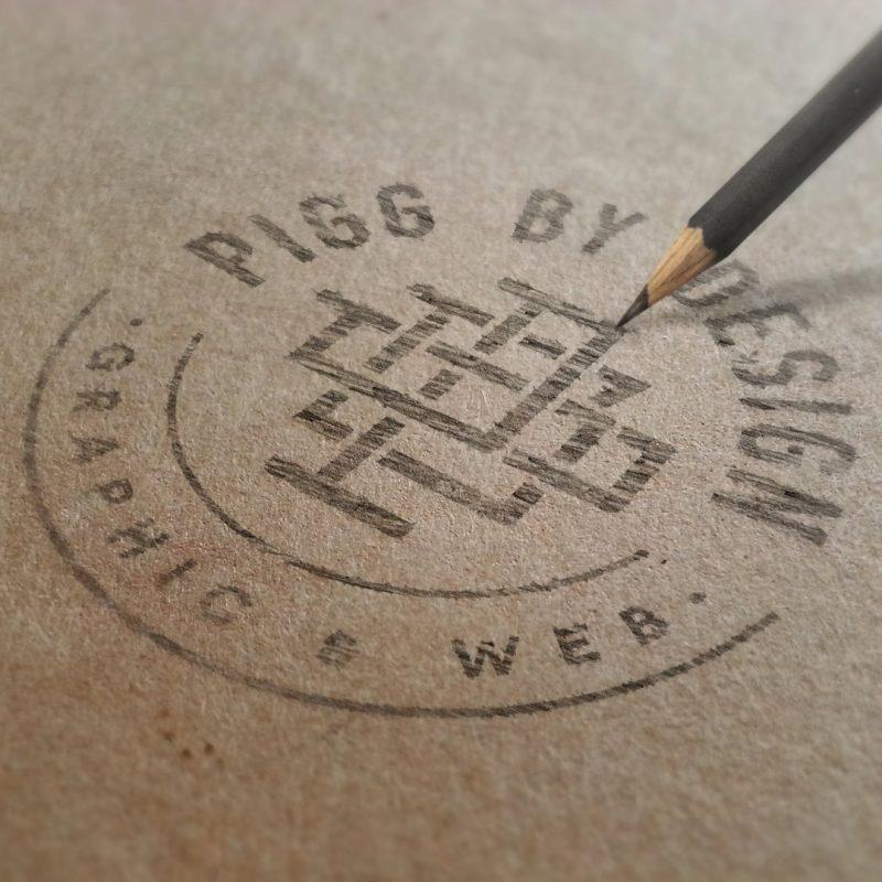 pencil drawn logo