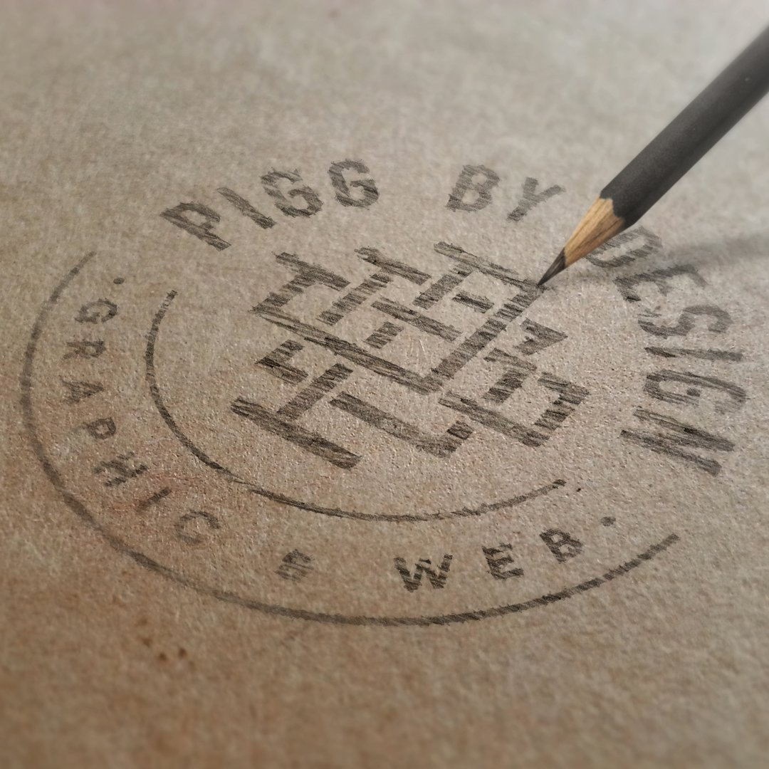pencil drawn logo